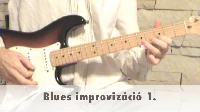 Blues improvizáció 1.