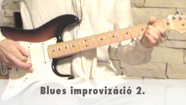Blues improvizáció 2.