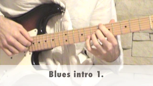 Blues intro 1.
