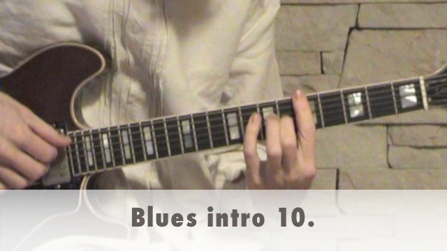 Blues intro 10.
