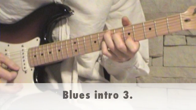 Blues intro 3.
