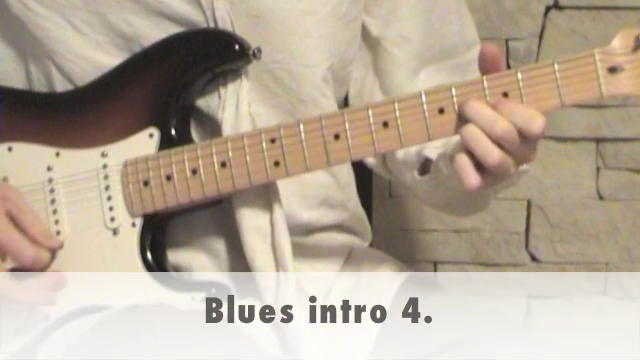 Blues intro 4.
