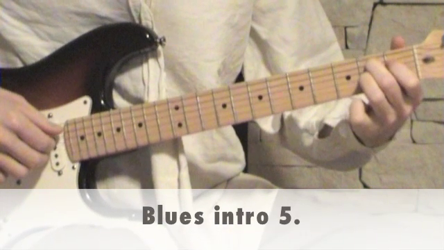Blues intro 5.