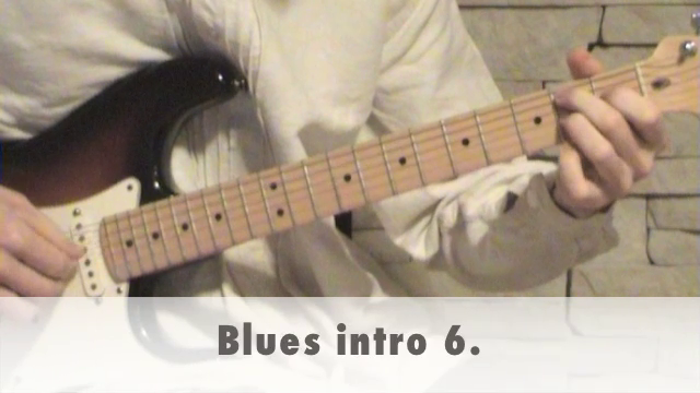 Blues intro 6.