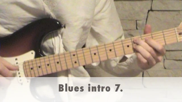 Blues intro 7.