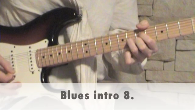 Blues intro 8.