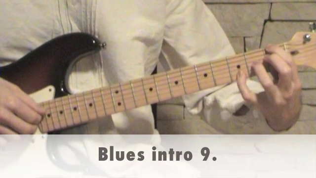 Blues intro 9.