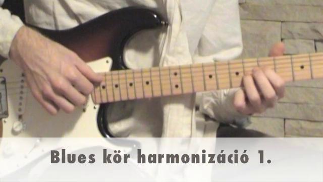 Blues kör harmonizáció 1.