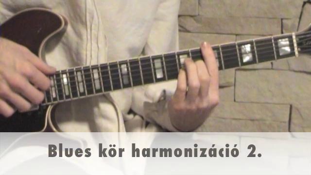Blues kör harmonizáció 2.