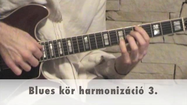 Blues kör harmonizáció 3.