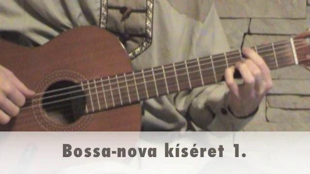 Bossa-nova kíséret 1.