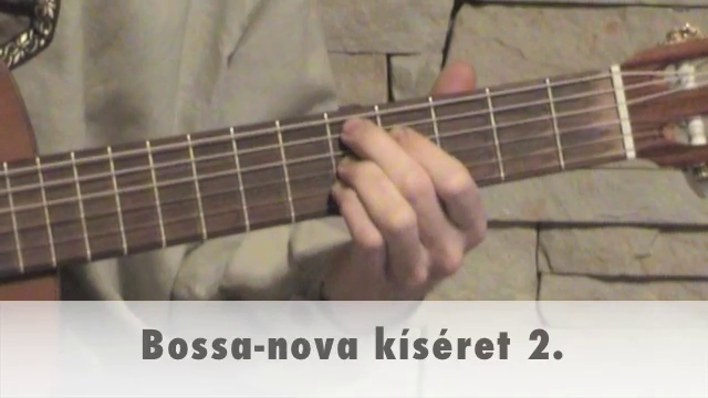 Bossa-nova kíséret 2.