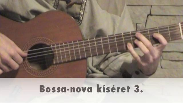 Bossa-nova kíséret 3.