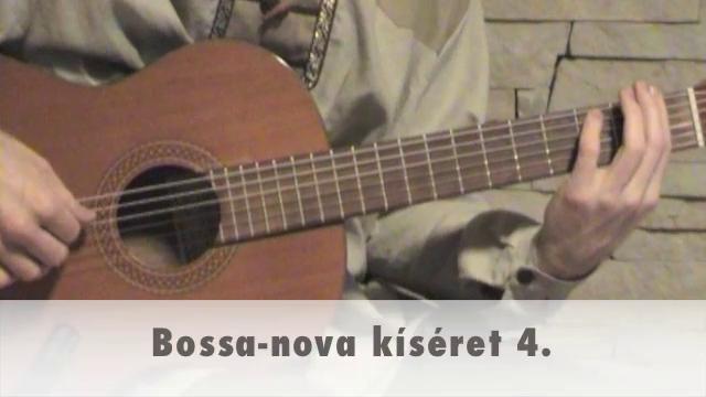 Bossa-nova kíséret 4.