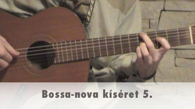 Bossa-nova kíséret 5.