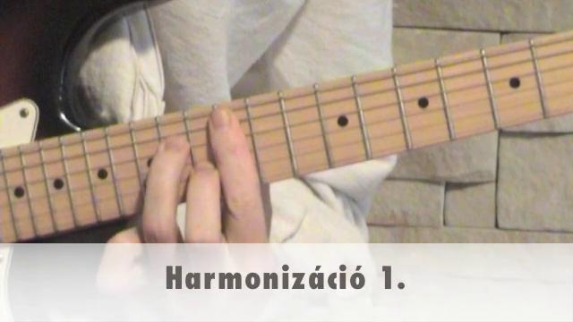 Harmonizáció 1.