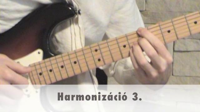 Harmonizáció 3.