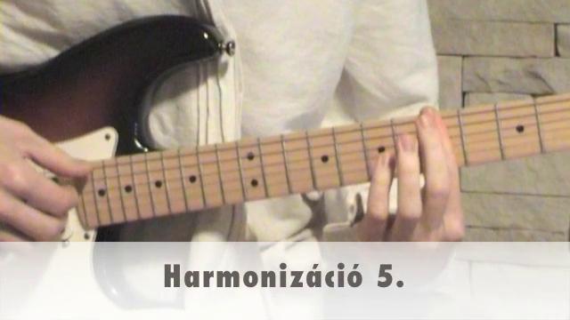 Harmonizáció 5.
