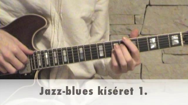 Jazz-blues kíséret 1.