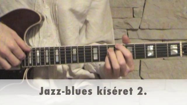 Jazz-blues kíséret 2.