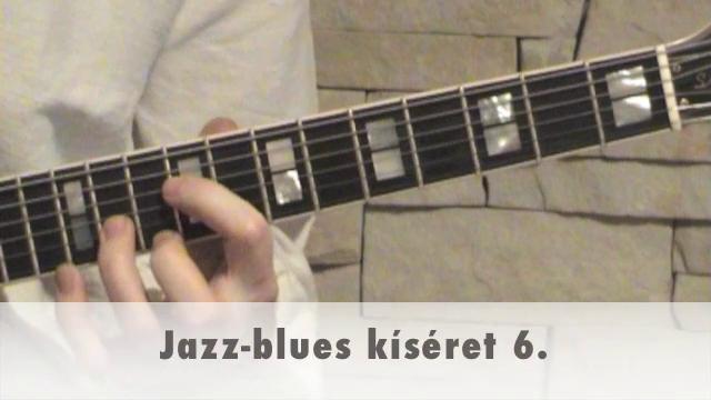 Jazz-blues kíséret 6.