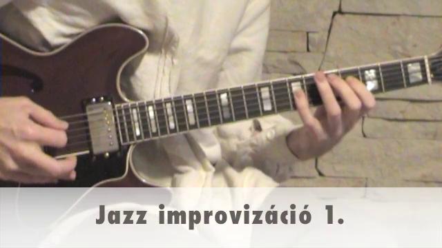 Jazz improvizáció 1.
