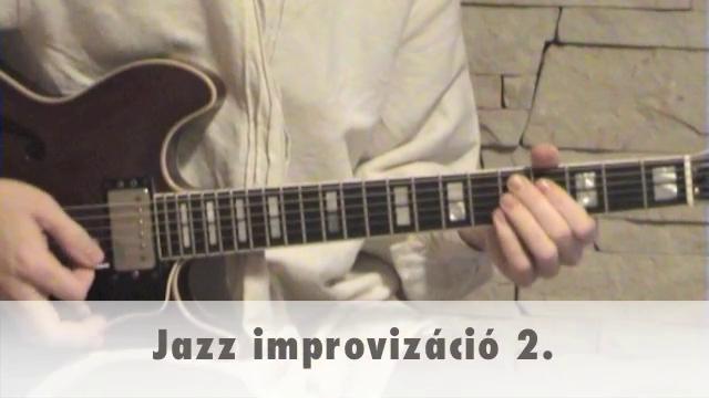 Jazz improvizáció 2.