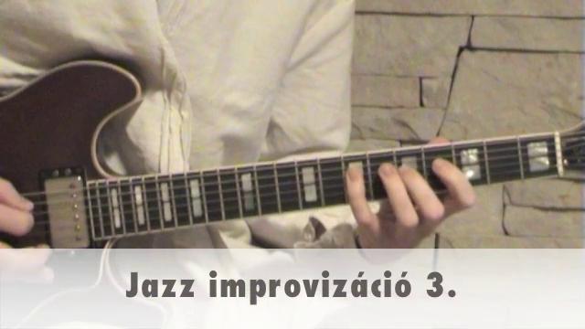 Jazz improvizáció 3.