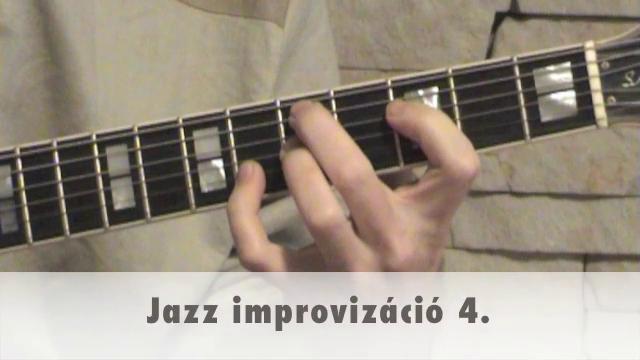 Jazz improvizáció 4.