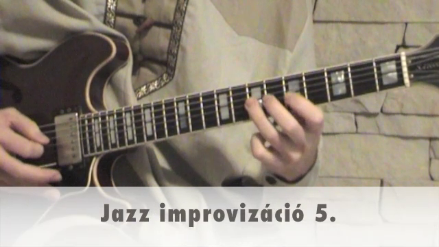 Jazz improvizáció 5.