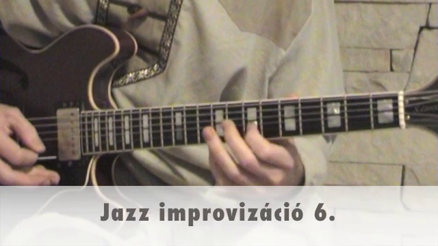 Jazz improvizáció 6.