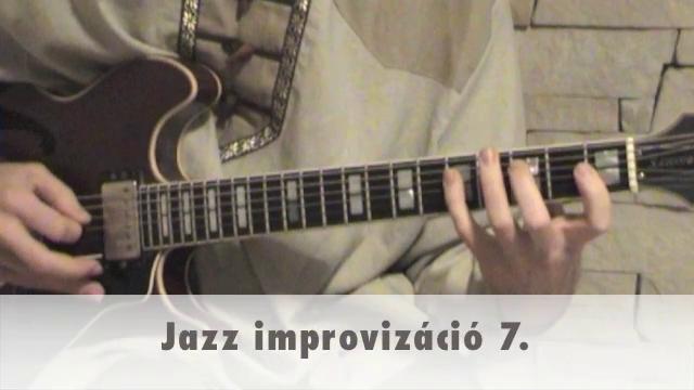 Jazz improvizáció 7.