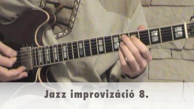 Jazz improvizáció 8.