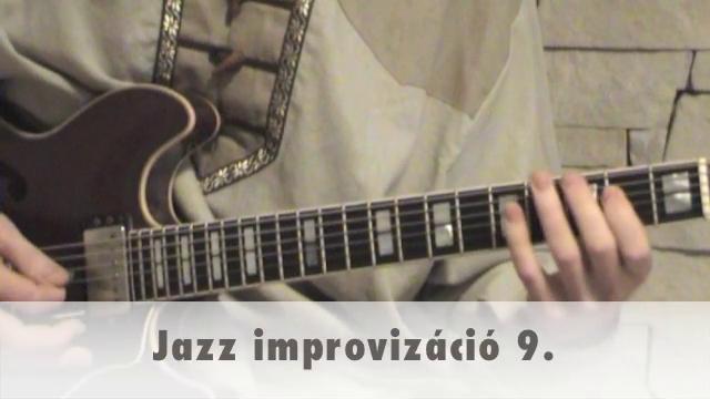 Jazz improvizáció 9.