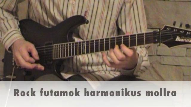 Rock futamok harmonikus mollra