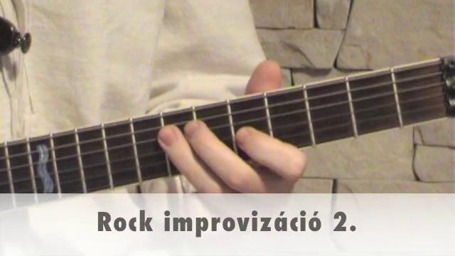 Rock improvizáció 2.