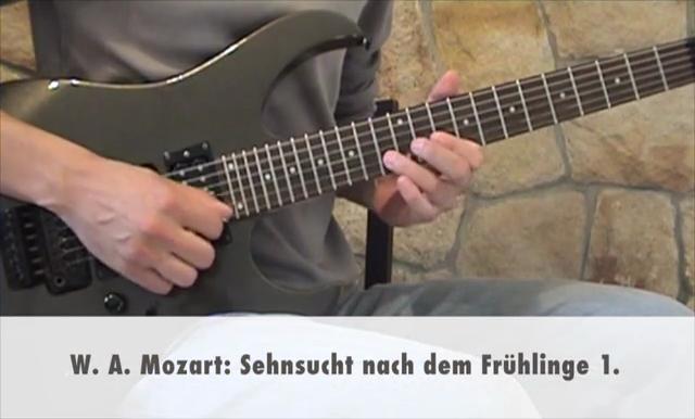 W. A. Mozart: Sehnsucht nach dem Frühlinge 1.